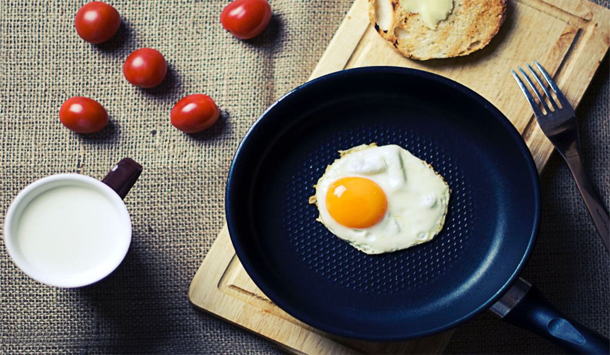 reheating dinner eggs