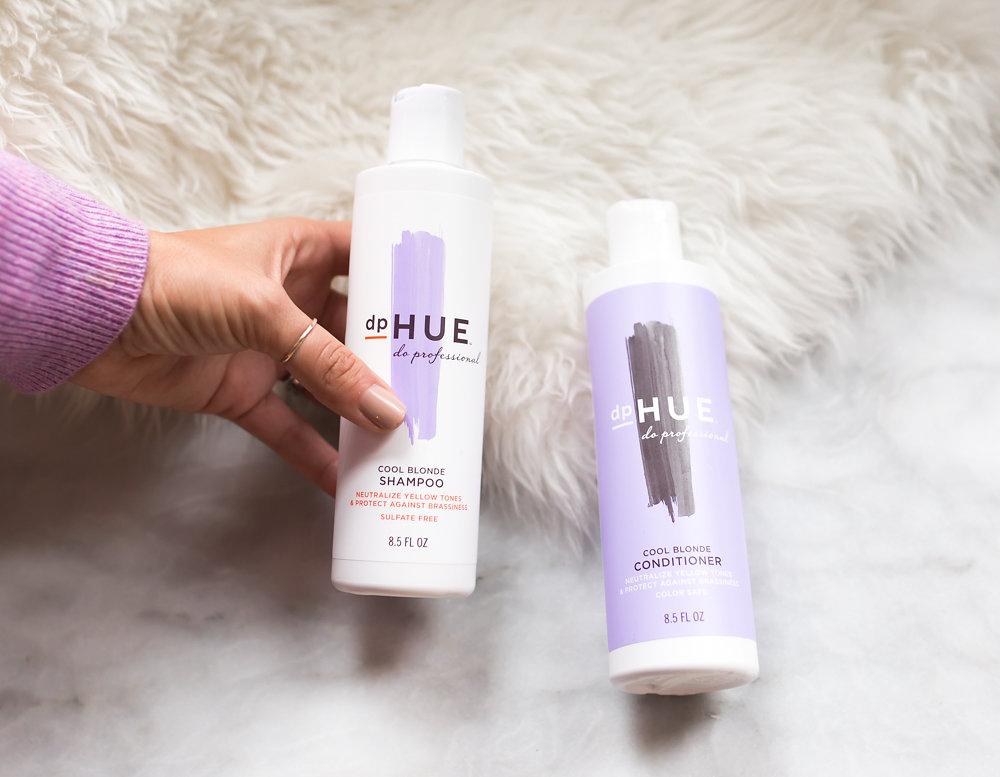 DpHUE Cool Blonde Purple Shampoo