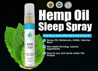 Serene Sleep Hemp Oil Spray