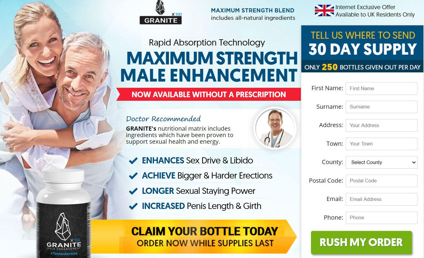 Granite Male Enhancement UK